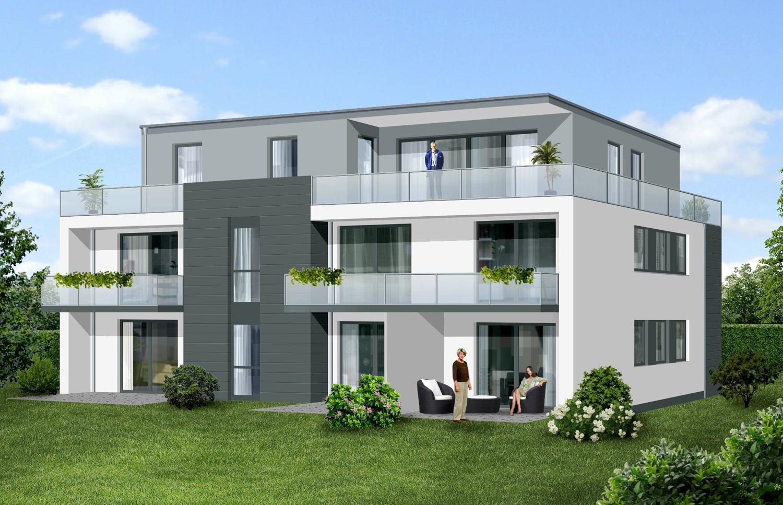 Fesselnde Moderne Mehrfamilienhäuser Das Beste Von Wir Errichten Für Sie Zwei Nahezu Baugleiche